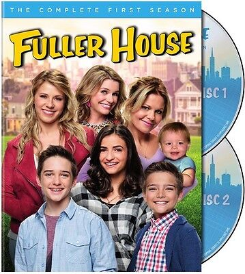 Fuller House: The Complete First Season 1 - 3 DISC SET (2017, DVD New)