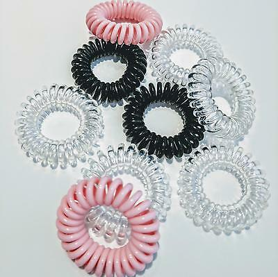 Invisible Traceless Hair Ties (Pack of 9 pcs)