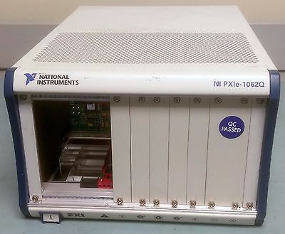 National Instruments PXIe-1062Q 8-Slot PXI Express Chassis