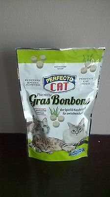 Perfecto delicacy FOR Cat  with grass 100 pcs -50G