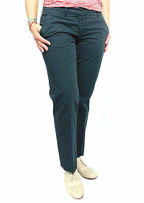 ASPESI women's trousers blue mod H101 100% cotone MADE IN ITALY