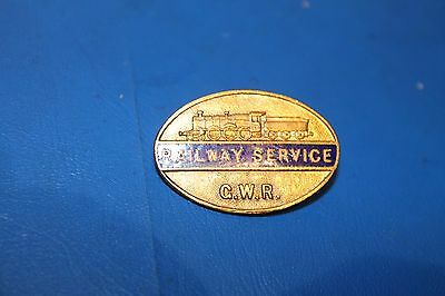 Great Western Railway 'Railway Service' badge for Female Employees