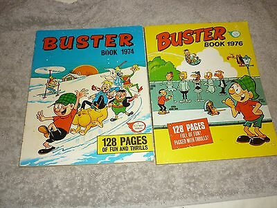 Buster Annuals 1974 & 1976