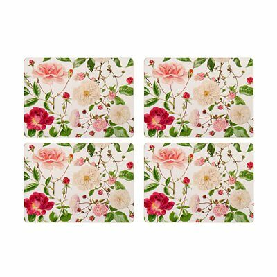 NEW Ulster Weavers RHS Rose Placemat Set of 4