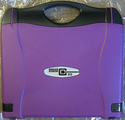 Music Case And Stand All In One - Purple (New/Unused)