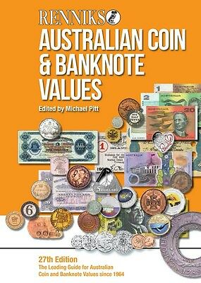 Renniks Australian Coin & Banknote Values 27th Edition Softcover
