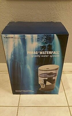 NEW #1384 Nikken PiMag Waterfall Gravity Water Purification Drinking System