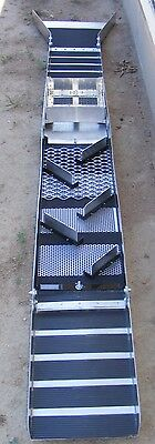 10 Inch - Fold Up Sluice Box with Rail Track System Classifier & Flare (Killer )
