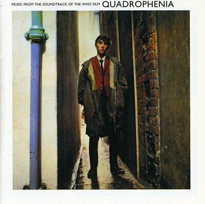 The Who - Quadrophenia - The Who CD 1SVG The Cheap Fast Free Post The Cheap Fast