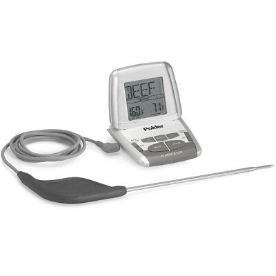 Polder Deluxe Preset In-Oven Thermometer with Ultra Probe THM-308-90