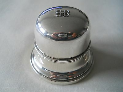 Birks Sterling Silver BB Ring Box