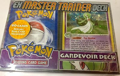 Pokémon Ex Master Trainer Gardevoir 60 Card  Deck  New Sealed