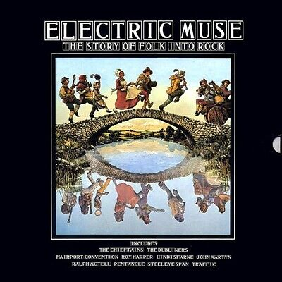 LP-BOX Chieftains, Roy Harper, Traffic... Electric Muse: The Story Of Folk Into