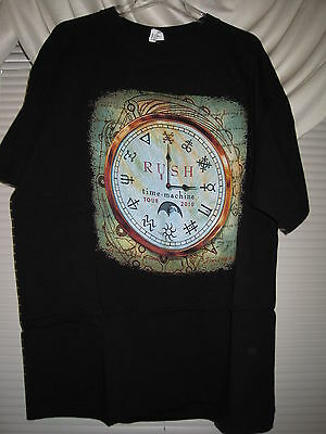 RUSH Time Machine Tour Shirt 2XL Harley Davidson Guns N Roses DIO Pink Floyd