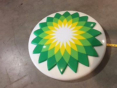 BP canopy sign (Helios) used
