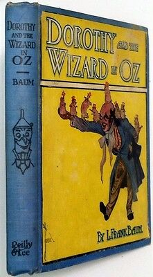 Antique Vintage Book of Dorothy and the Wizard In Oz L FRANK BAUM