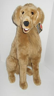 Melissa & Doug Giant Golden Retriever Lifelike Plush Animal Dog - New With Tag