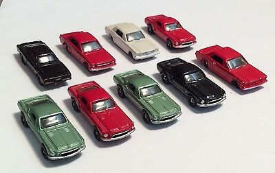 N Scale Racing Champions Brand Classic Automobile Lot #2