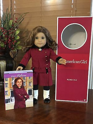 American Girl Doll Rebecca With Meet Outfit Retired