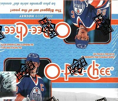 2009-10 O-Pee-Chee NHL hockey cards Retail Box with 36 Packs