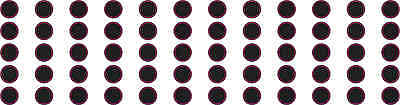 [60×] Black 3/16in Camera Dot Webcam Lens And LED Light Cover Privacy Stickers