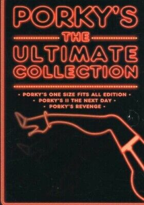 Porky's: The Ultimate Collection [New DVD] Boxed Set, Sensormatic