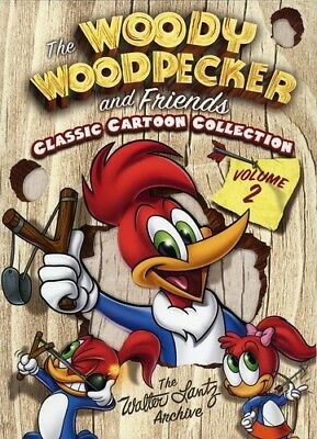The Woody Woodpecker and Friends Classic Cartoon Collection: Volume 2 [New DVD]