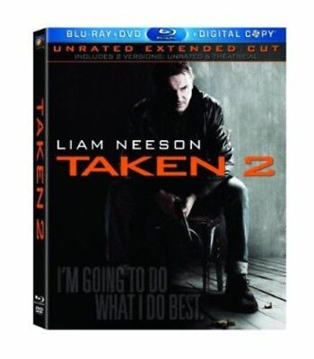 Taken 2 [New Blu-ray] With DVD, Widescreen, Subtitled, Unrated, 2 Pack, Ac-3/D