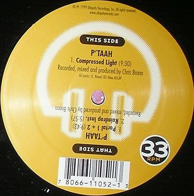 "P'Taah - Compressed Light Vinyl 12"" a0710568aa"