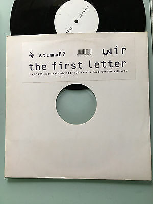 LP UK 1991 RARE  Wir – The First Letter - Wire  Colin Newman