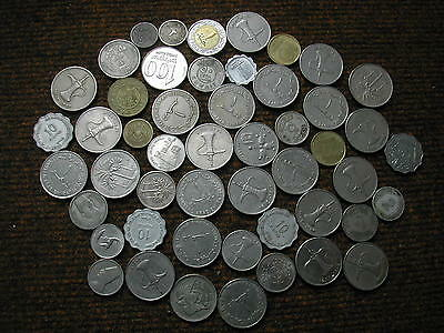 Middle East coins x 50