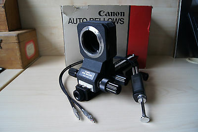 Canon Auto Bellows with a double release cable