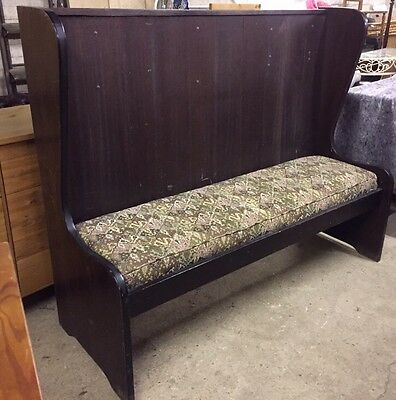 Vintage/Antique Church Chapel Pew Settle, Bench ~ In Need Of TLC