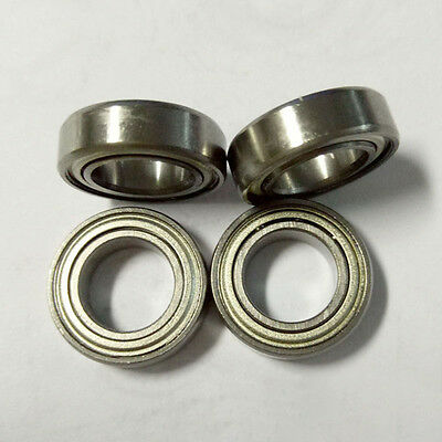 10Pcs/Lot MR148ZZ 8x14x4mm Metal Double Shielded Ball Bearing Bearings 8*14*4mm