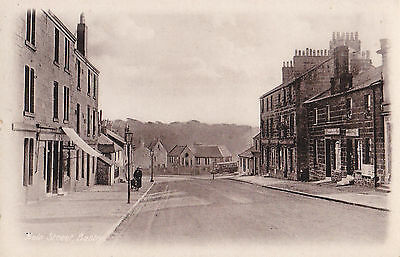 Main Street,Busby,near Glasgow- Vintage Unposted Postcard-RARE