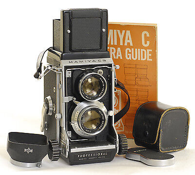 Mamiya C3  TLR 6x6 Film Camera with 80mm f2.8 Sekor Lens (0394)