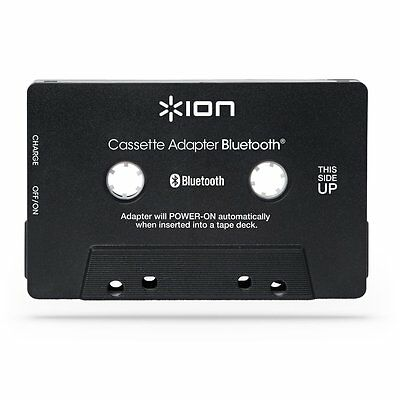 ION Audio Bluetooth Cassette Adapter - Bluetooth audio streaming for cassette