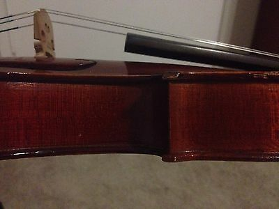 MEDIO FINO 3/4 French Violin in Hard Case with Bow w/Full Setup