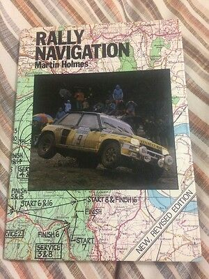Rally Navigation by Martin Holmes Ford Escort Rs 1800 Rs 2000 Mexico Opel Manta