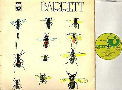 SYD BARRETT (OF PINK FLOYD) barrett (1st uk) LP G/F SHSP 4007 harvest 1970