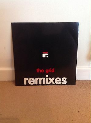 """If? - If 12"""" 1991 Mca The Grid Remixes Excellent!"""