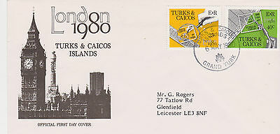 Turks & Caicos 1980 London 1980 First Day Cover