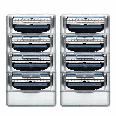 4x mens razor blades replacement for Gillette Mache 3 pack of 4