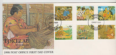 Tokelau 1990 Women's Handicraft First Day Cover