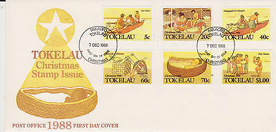 Tokelau 1988 Christmas First Day Cover