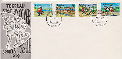 Tokelau 1979 Sports First Day Cover