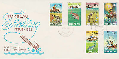 Tokelau 1982 Fishing Methods First Day Cover