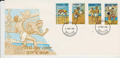 Tokelau 1981 Sports First Day Cover