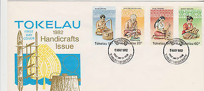 Tokelau 1982 Handicrafts First Day Cover