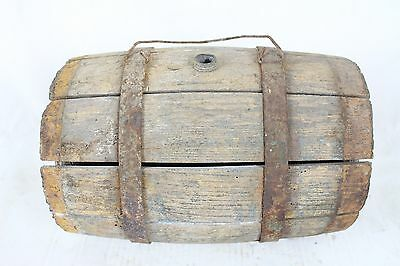 Vintage Decorative Wine Liquor Water Wooden Barrel Collectable Rare Old Country